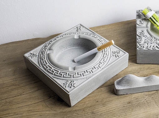 Concrete handicraft